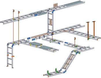 Кабельные лестницы типа KS20